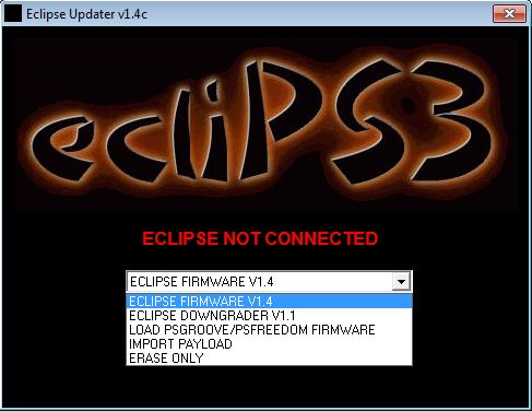 Eclipse Updater V1.4c including Downgrader V1.1