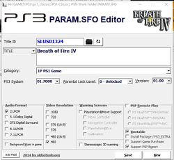 PS1 Classics Emulator Compatibility List - PS3 Developer wiki