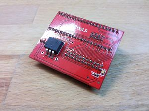 Teensy adapter Board for NANDway - Soldered Regulator